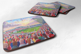 racecourse ground  Coaster set of four